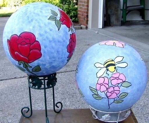 Décorer des boules de bowling !