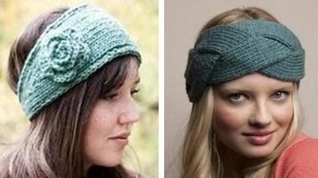 Le bandeau de laine revient à la mode