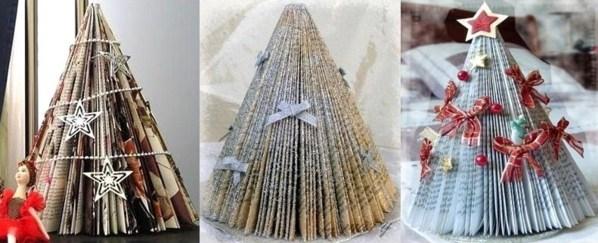 Comment faire un sapin de noel en livre