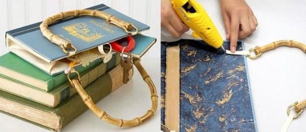 Faire un sac avec un livre, les tutos