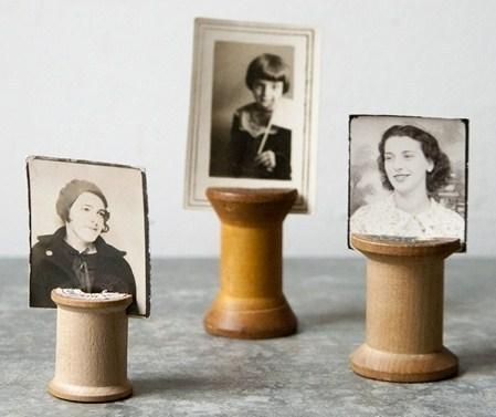 Porte-photos originaux à faire soi-même
