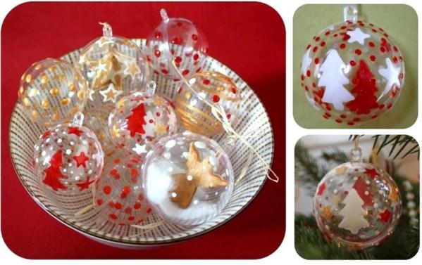 Decorer Boule De Noel En Plastique Comment décorer et garnir des boules de Noël transparentes, des