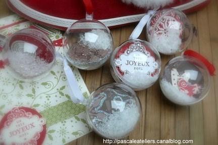 Boule De Noel Transparentes A Decorer