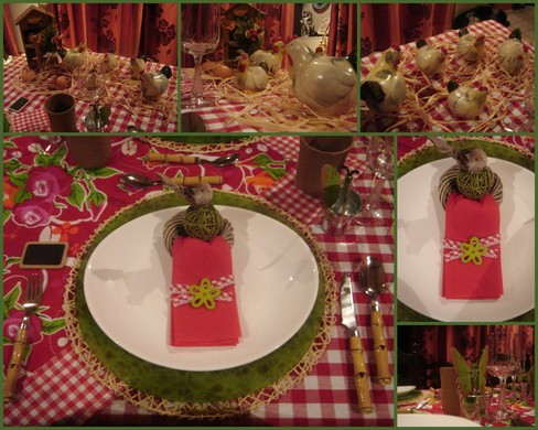 Art de la table : les jolies tables de Josiane