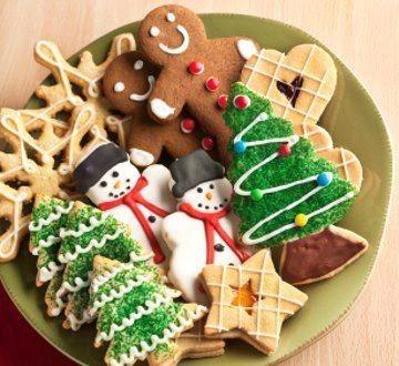 Magnifiques cupcakes et biscuits de Noël !