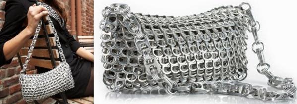 Garder et recycler des capsules de canettes