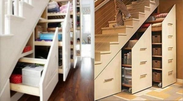 Optimiser l 39 espace d 39 un escalier - Optimiser espace cuisine ...