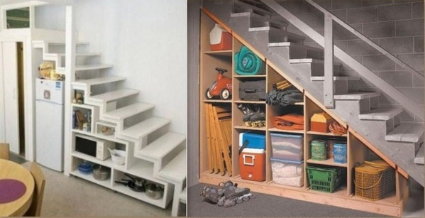 Optimiser l'espace d'un escalier