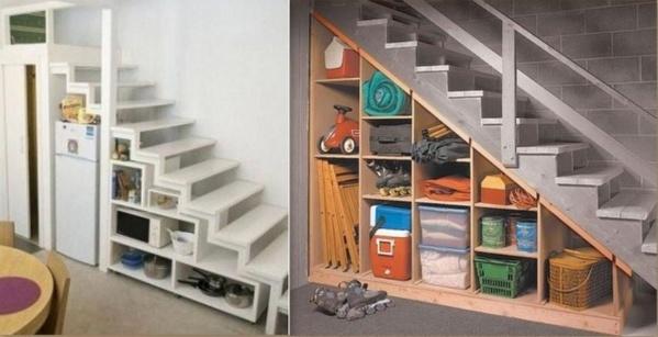 optimiser l 39 espace d 39 un escalier. Black Bedroom Furniture Sets. Home Design Ideas