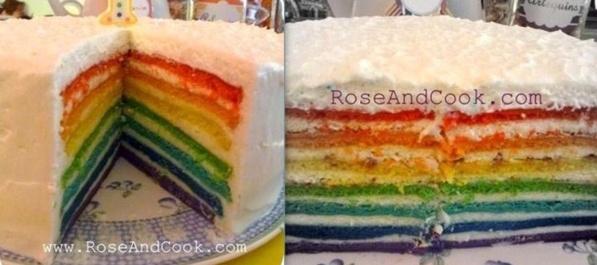 5 recettes de gâteaux arc-en-ciel !