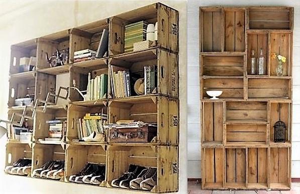 Les casiers et caisses en bois ont la c te - Casiers de rangement en bois ...
