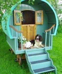 Des niches pour chien originales et insolites for Niche exterieure pour chien