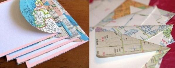 Comment recycler de vieilles cartes routières