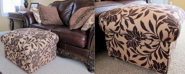 Faire un pouf ou siège d'appoint en récup !
