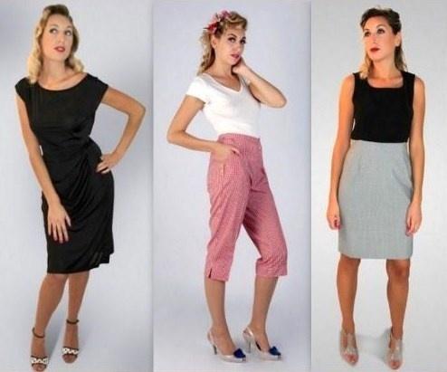 le dernier 2acba 332ab Vetement Vintage Annee 50 Femme mN8nOv0w
