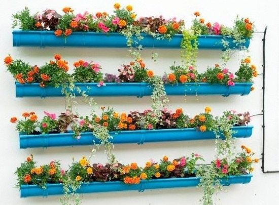 recyclez vos goutti res en zinc en jardini res. Black Bedroom Furniture Sets. Home Design Ideas