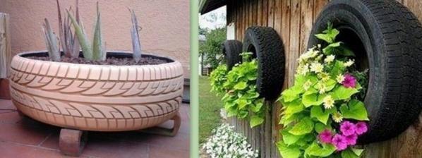 faire avec de vieux pneus ?