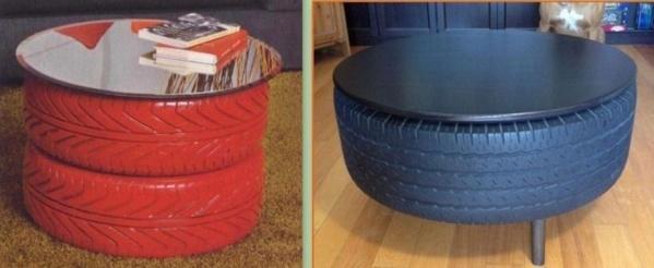quoi faire avec de vieux pneus. Black Bedroom Furniture Sets. Home Design Ideas