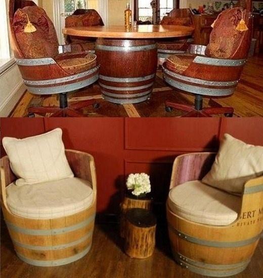 Salon De Jardin En Tonneau De Vin Des Id Es Int Ressantes Pour La Conception De