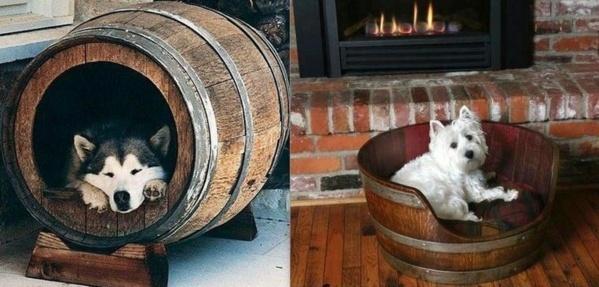 Idées pour recycler des tonneaux en bois !