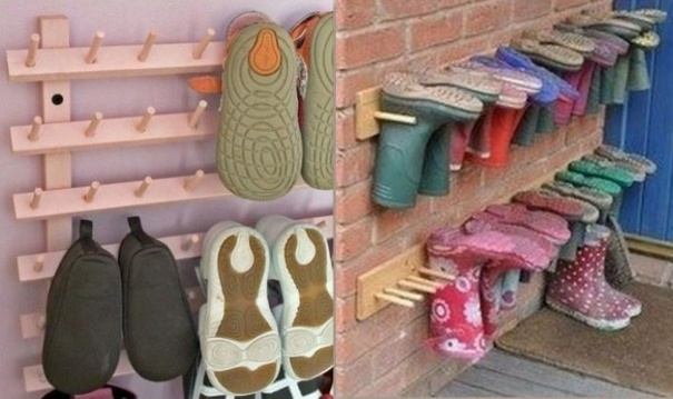Rangement chaussures bricolage for Rangement bricolage