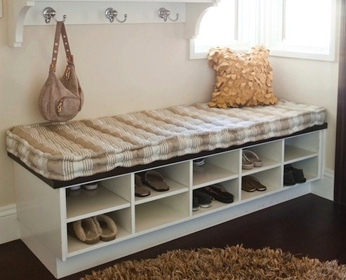 banc entree range chaussures. Black Bedroom Furniture Sets. Home Design Ideas