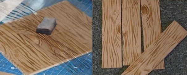 Tutoriel faire de fausses planches en carton