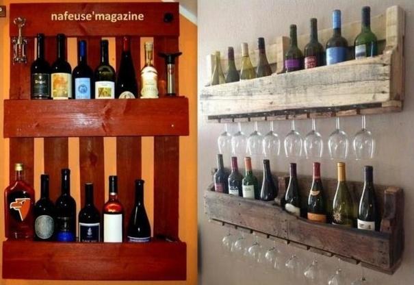 Bevorzugt Faire Une Cave A Vin Avec Des Palettes – Palzon.com LC79