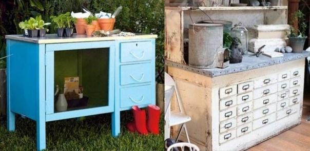 id es pour faire une table rempoter en r cup. Black Bedroom Furniture Sets. Home Design Ideas