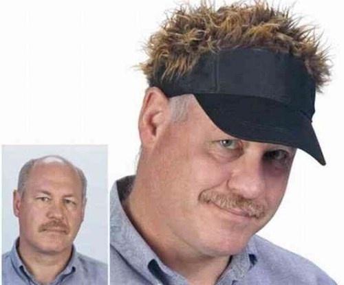 La casquette moumoute : pour être ridicule en toute circonstance