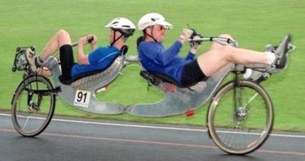 Le vélo à double commande : ils sont pas encore arrivés..