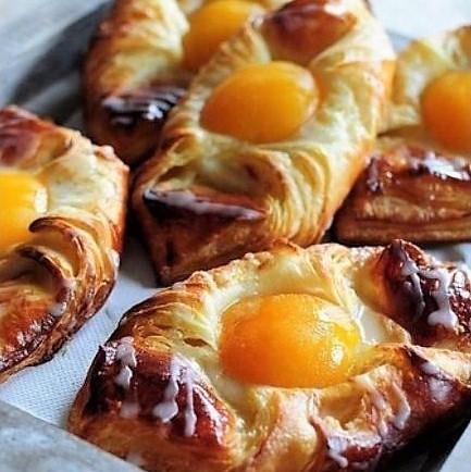 Viennoiseries danoises - recettes