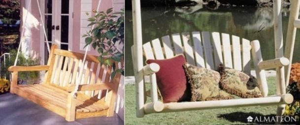 Faire un lit balancelle avec de la récup !