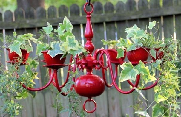 Comment recycler un vieux chandelier lustre