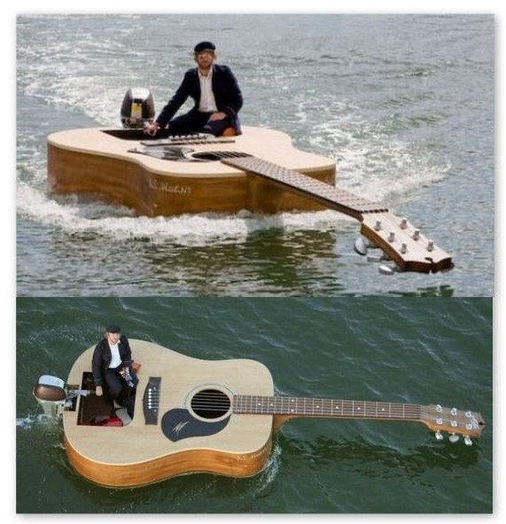 barque guitard
