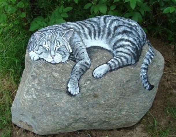 Stone art de superbes peintures sur pierres for Gros cailloux decoratif