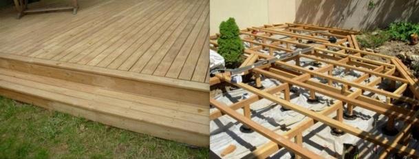 Comment Faire Une Terrasse Bois - Comment faire soi m u00eame sa terrasse en bois