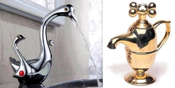 Des robinets originaux et insolites pour décorer la maison !