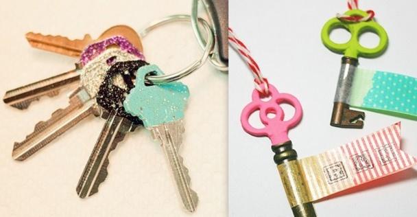 Astuces pour différencier ses clefs