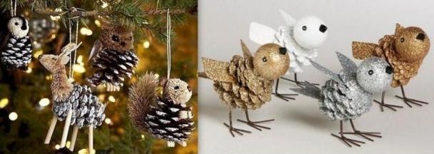 Fabriquer les dcorations de Nol avec les enfants - Noel Tte