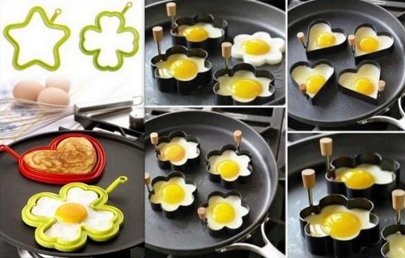 Des oeufs au plat qui ont du style !