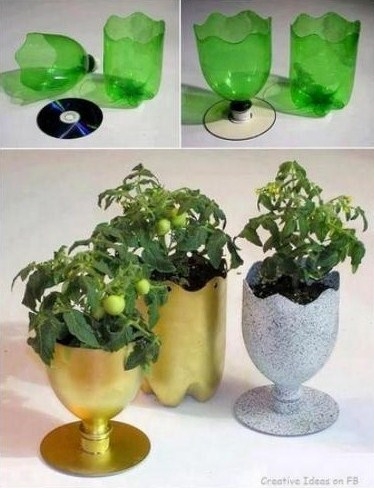 18 idées créatives pour recycler des bouteilles plastique