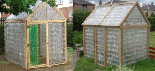 Construire Une Serre En Bois Et Verre - Construire une serre en bouteilles plastique