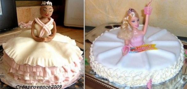 De jolis gâteaux poupée à voir ou à faire !
