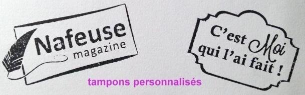 Des tampons créatifs, spéciaux et personnalisables