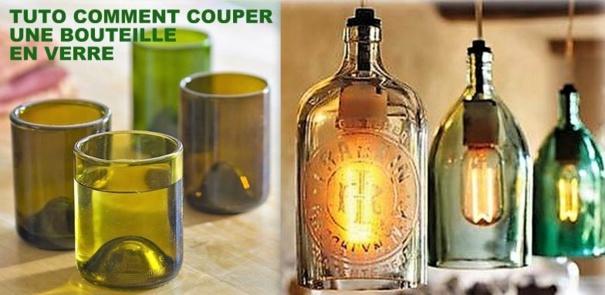 Comment couper une bouteille en verre les tutos - Comment couper une bouteille de verre ...