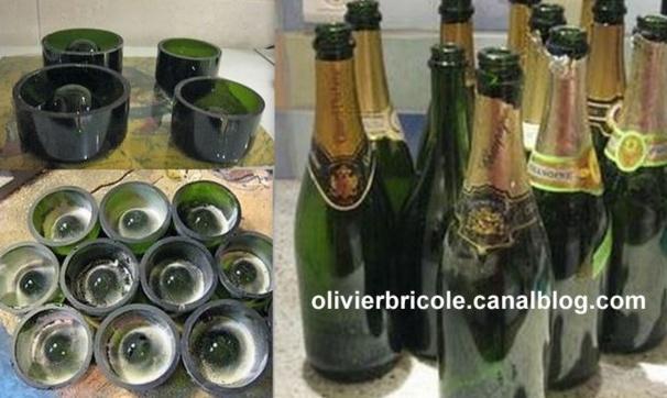 Comment couper une bouteille en verre, les tutos