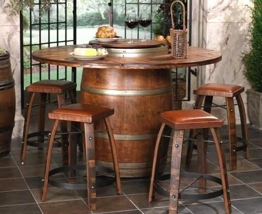 Tables de jardin originales insolites recycl es for Grand jardin wine