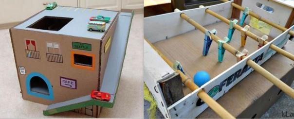 2 idées récup de jeux enfants à faire soi même