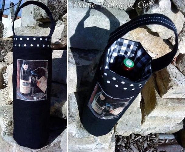 Tutos et modèles housses pour bouteilles